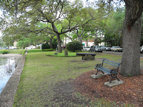 Photo: The town park by the river