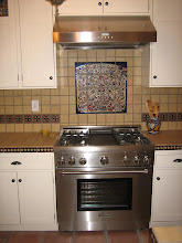 Photo: Kitchen -Mural Tree of Life Pvt. Residence, Glendale, CA