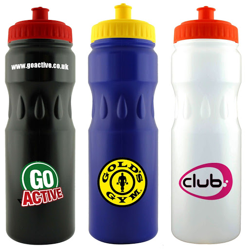 Large Sports Bottle with Teardrop Grip
