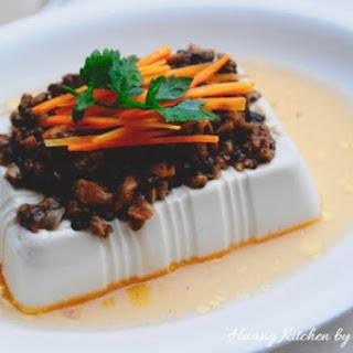 Steamed Shiitake Mushroom Beancurd 蒸香菇豆腐