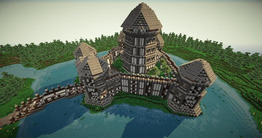Great Castle - Minecraft Ideas