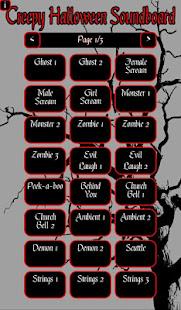 creepy halloween soundboard apps on google play