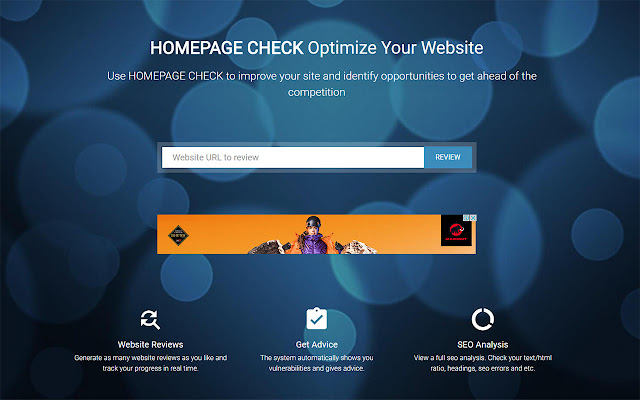 Homepage Check - SEO & Website Analysis