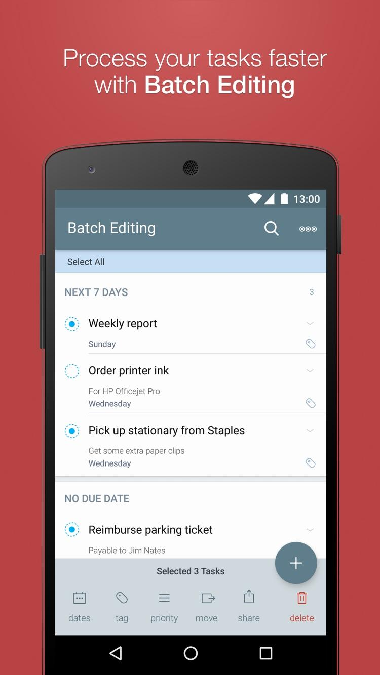 2Do - Reminders, To-do List & Notes Screenshot 3