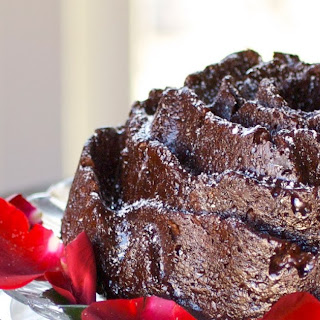 Chocolate Rose Cake.