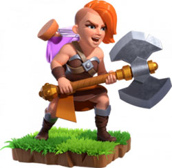 Clash of Clans Super Valkyrie