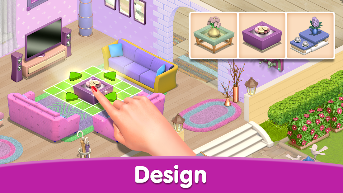 Happy Home - Design & Decor Android App Screenshot