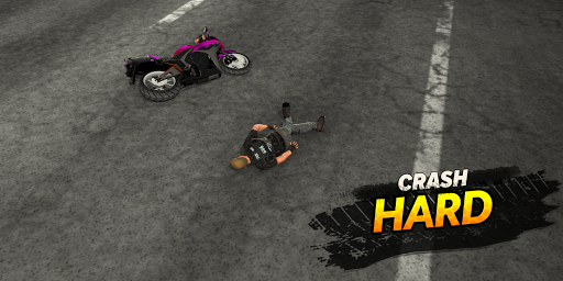 Highway Rider Motorcycle Racer  screenshots 4