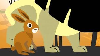 Däumelinchen/ Der Hase und der Löwe/ Die Ratten und ihr Töchterlein