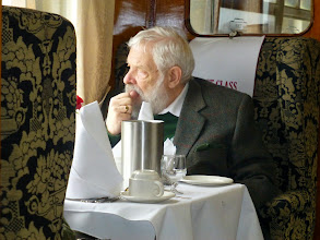 Photo: Robert contemplating the departure