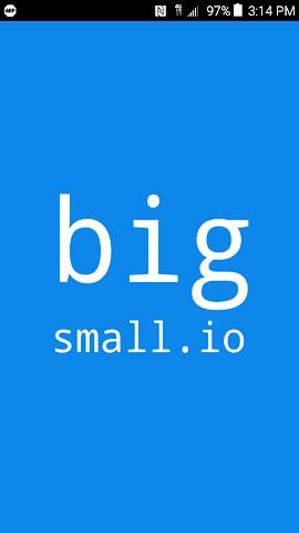 android bigSmall.io Screenshot 0