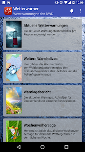 Wetterwarner Pro screenshot for Android