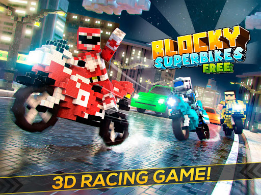 Blocky Superbikes Race Game - Motorcycle Challenge apkmr screenshots 10