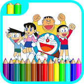 Learn Coloring For Doraemon