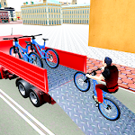 BMX Bicycle Transport Truck Simulator Icon