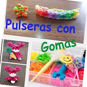 Pulseras con Gomas