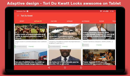 Tori Du Kwatt - Cameroun News screenshot 4