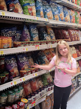 Photo: Chip Aisle! My daughter LOVED the idea of dressing up some Tostitos Scoops. I was excited to see the multigrain option!