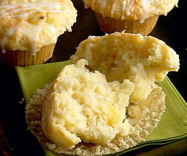 Pineapple Coconut Muffins Recipe