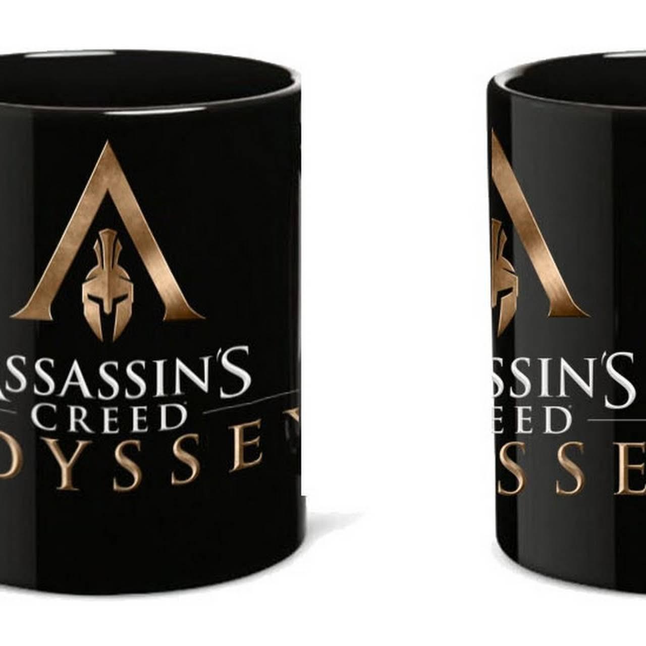 Assassins Creed Odyssey mintás fekete bögre 471be178ef