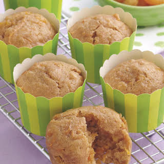 Carrot and Apricot Muffins.