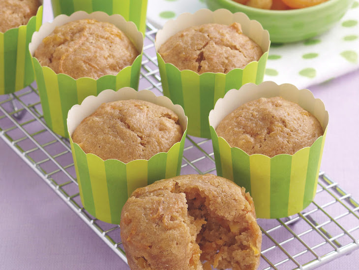 Carrot and Apricot Muffins Recipe