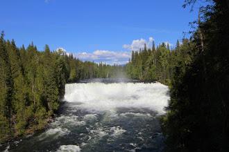 Photo: Wells Gray PP - Dawson Falls