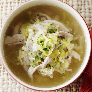 Chicken and Leek Soup.