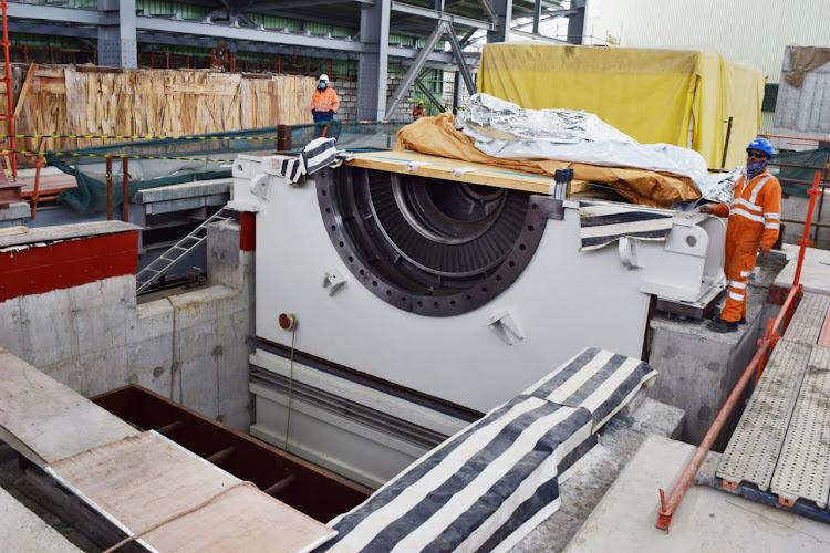 KenGen installs Steam Turbine at Olkaria 1 AU 6 power plant