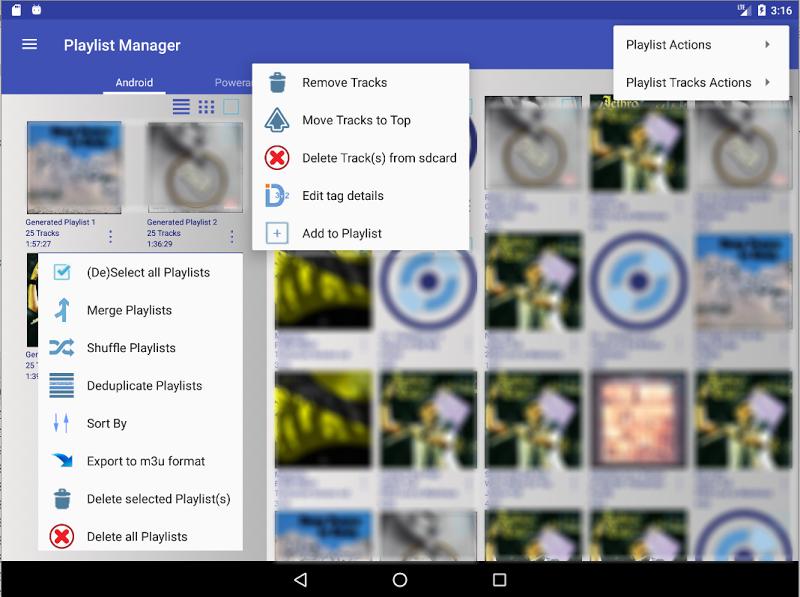 New Playlist Manager Screenshot 9
