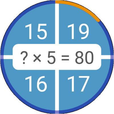 Math games: arithmetic, times tables, mental math screenshots 19