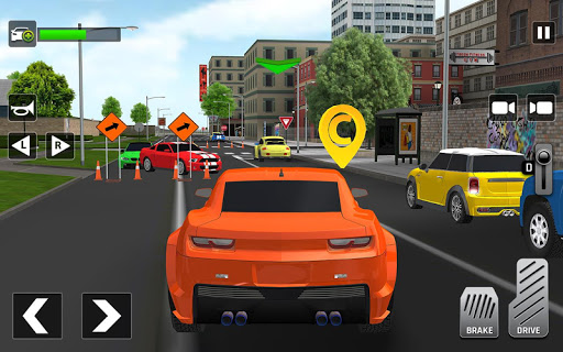 City Taxi Driving: Fun 3D Car Driver Simulator screenshots 5