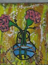 Photo: Flowers in VaseOil 50cmx60cm $150