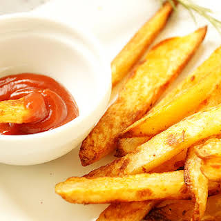 Oven Baked Potato French Fries.