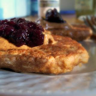 Soaked, Flour-Free Oatmeal Pancakes