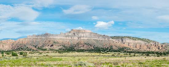 Photo: Battleship Mesa, San Ildefonso Pueblo, New Mexico