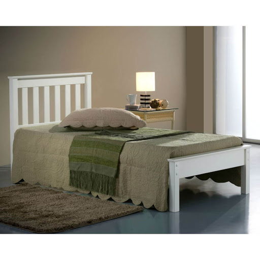 Birlea Denver Ivory Double Bed Frame
