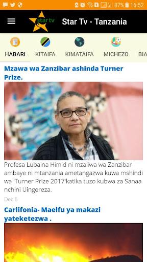 Star Tv - Tanzania 2.1 screenshots 1