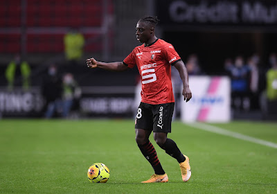 Jérémy Doku en Stade Rennes winnen met het kleinste verschil van Brest en sluiten opnieuw aan bij Franse top
