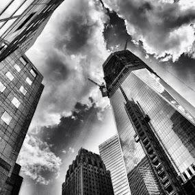 1 World Trade Center, NYC by Brandon Rechten - Buildings & Architecture Public & Historical ( pwcbuilding )