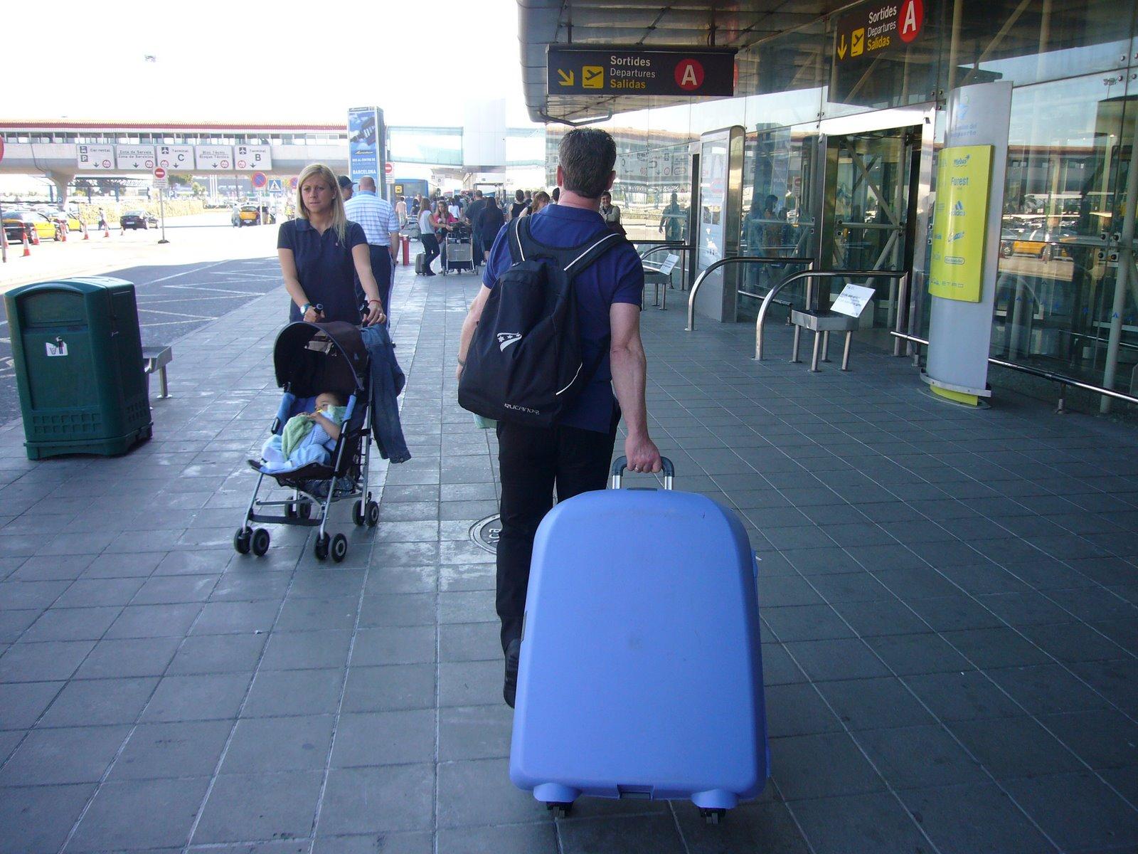 Photo: Aankomst Barcelona