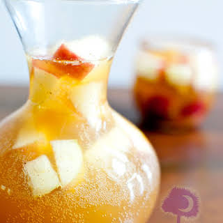 Autumn Apple Cider Sangria.