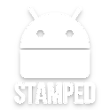 Stamped White Icons