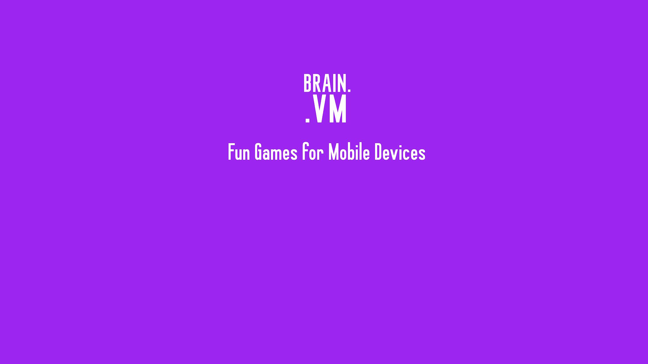 BrainVM Games