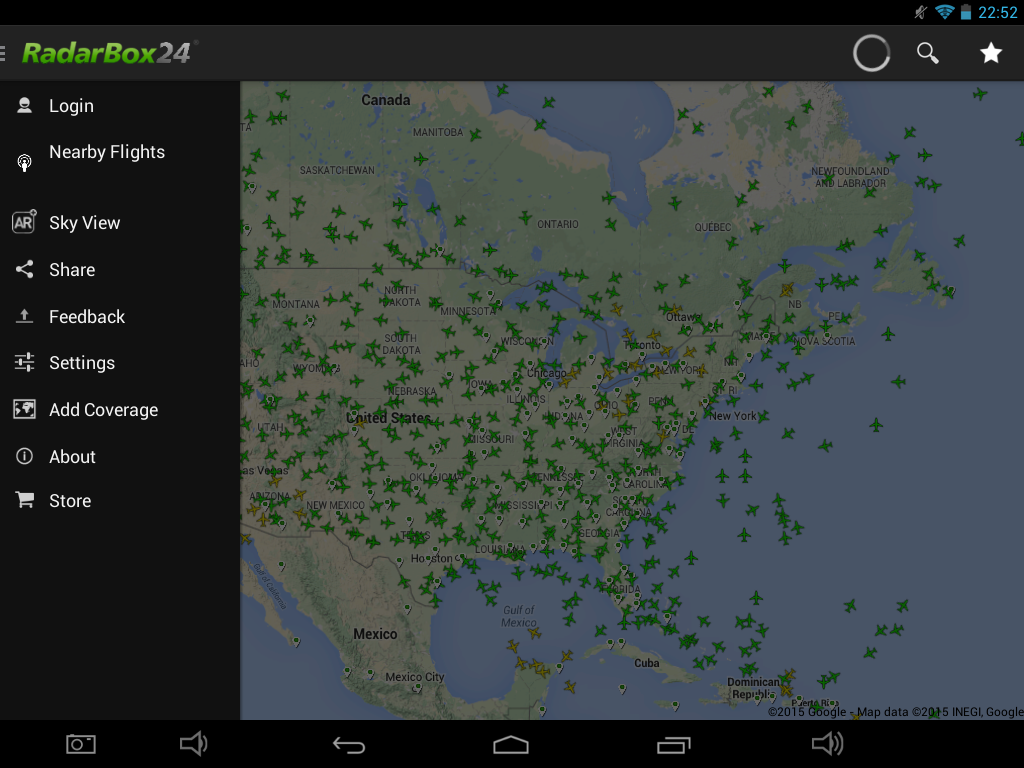 RadarBox24 Free Flight Tracker – Screenshot