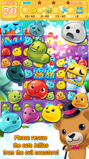 Jelly Jelly Crush - In the sky 302 screenshots 1