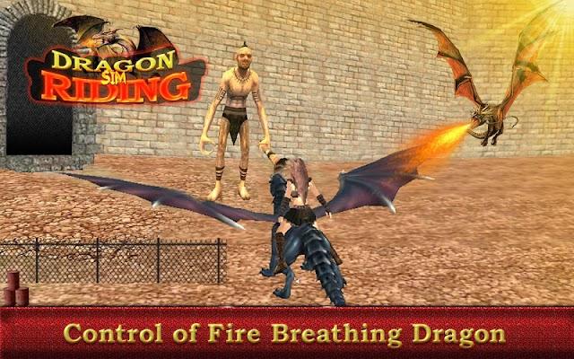 Dragon Riding Simulator Game - screenshot