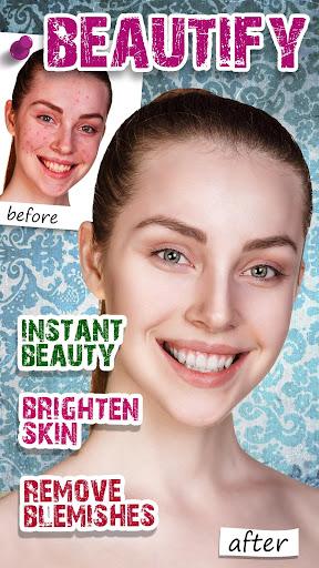 Beauty Makeup Selfie Camera MakeOver Photo Editor  screenshots 3