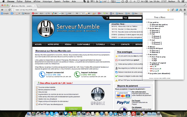 Viewer ServeurMumble.com