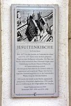 Photo: We visit the Jesuit Church